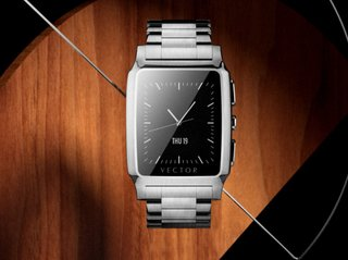 Vector smartwatch comes with a 30-day battery life and either a round or square face