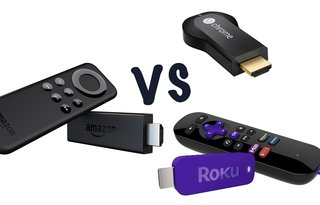 Amazon Fire TV Stick vs Google Chromecast vs Roku Streaming Stick: What's the difference?
