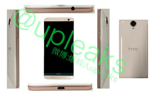 HTC E9 leaks with a plastic build, large camera lens and One M9 face