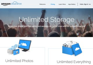 Amazon Cloud Drive has new paid tiers: You can now store unlimited files for £40 a year