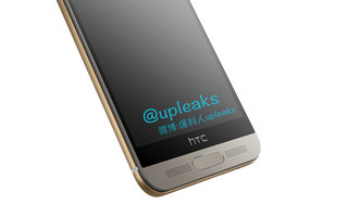 HTC One M9+ photos leak showing fingerprint reader and Duo Camera