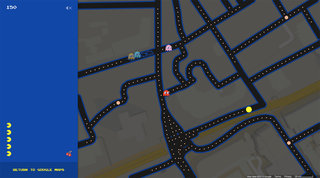 Google Maps Pac-Man is not an April Fools' joke, it's a gift from Google