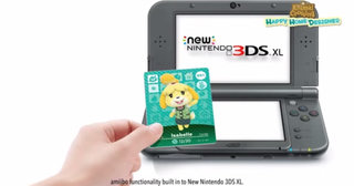 Some new Nintendo Amiibos will come in card form, normal 3DS to get NFC reader too