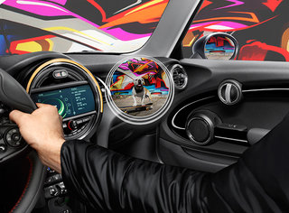 bmw mini augmented vision goggles are real in car heads up display for your face image 5
