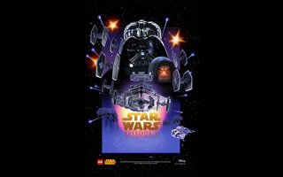 All the Star Wars posters have had an awesome Lego makeover