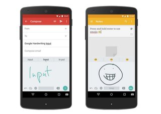 Google's new handwriting input app for Android supports emoji and 82 languages