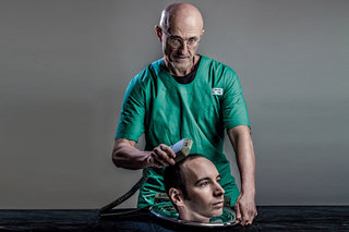 was the dr sergio canavero head transplant news all a metal gear solid promo stunt  image 1