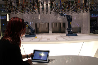 Bionic Bar is the future: Robot bartenders at your service