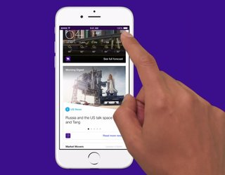 Yahoo might be working on a Google Now-like app called Index, coming this year