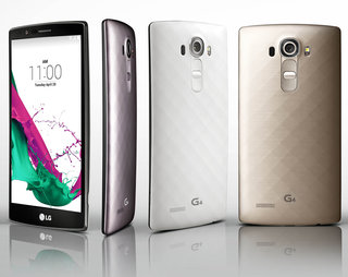 This is the LG G4: Quantum Display, colour spectrum sensor, available 28 May