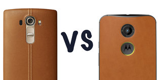 LG G4 vs Motorola Moto X: Hell for leather showdown