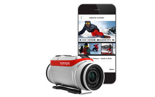 TomTom Bandit action camera offers 4K capture, motion data, smartphone connectivity