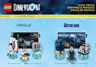 Lego Dimensions figures leaked: Doctor Who, Portal 2, The Simpsons and more