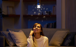 Sony's Hue-like bulbs go one better, they have Bluetooth speakers in