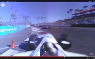 Watch this 360-degree, VR-like video to experience a Formula E race from the driver's view