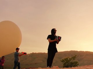 Watch Google and Skrillex launch a satellite for his new Android phone 'Live Case'
