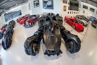 They've only gone and built a life-sized Batman: Arkham Knight Batmobile