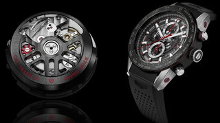 Tag Heuer Carrera Wearable 01: The luxury brand smartwatch has a name