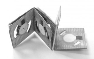 Origami battery is paper-thin and can use dirty water to create power