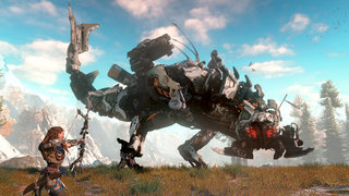 Horizon: Zero Dawn is like Terminator meets Jurassic Park, another surprise PS4 exclusive announced at E3
