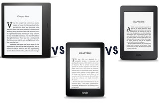 Amazon Kindle Oasis (2017) vs Kindle Voyage vs Kindle Paperwhit