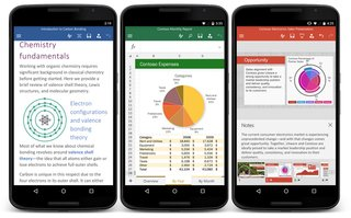microsoft office officially launches for android phone includes three main apps image 2
