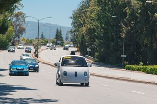 Google's little prototype cars are now self-driving on California roads