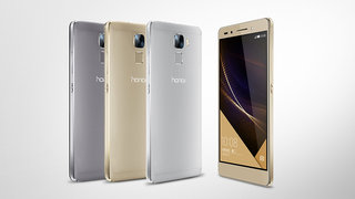 Honor 7 with metal build, fingerprint sensor and 20MP camera launched