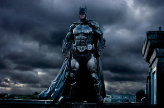 This is the best Batman cosplay suit ever... and it was 3D printed to boot