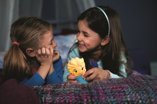 Let it go! Frozen's Elsa and Olaf SoftPals lights vie for your kids' cuddles