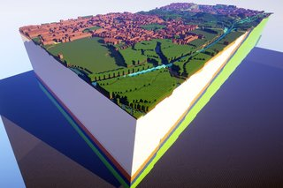You can now explore Britain's underground and geology in Minecraft