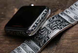 The best looking Apple Watch you'll ever see but likely never own, in pictures