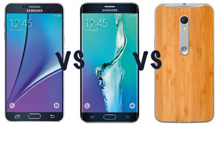 Samsung Galaxy S6 edge Plus vs Galaxy Note 5 vs Motorola Moto X Style: What's the difference?
