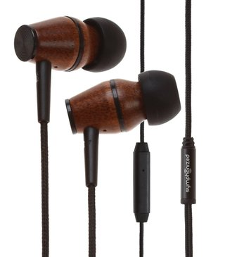 Save 52 per cent on the sleek in-ear wood headphones from XTC