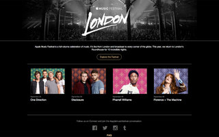 Apple Music Festival line-up teased: Pharrell, Disclosure, One Direction and more