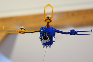Fotokite Phi is a leashed drone that's gesture-controlled and carries a GoPro