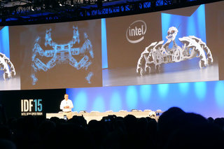 Intel's future vision: Robot butlers, fashion wearables, super-fast SSD and RealSense prevail at IDF 2015