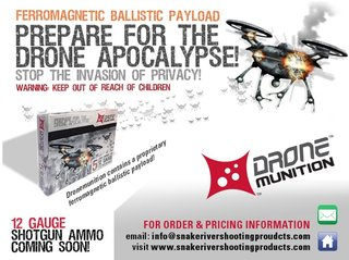 you can now buy special drone munition shotgun shells to take down drones image 3
