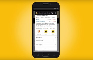Bing's Android app has a new feature that's just like Google Now on Tap