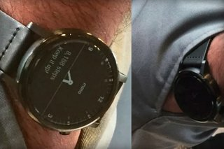 Somebody actually saw Moto 360 2 while on a Chicago train and snuck a pic