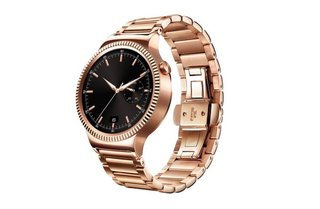 Huawei's gold-plated Android Wear watch works with... iPhone?