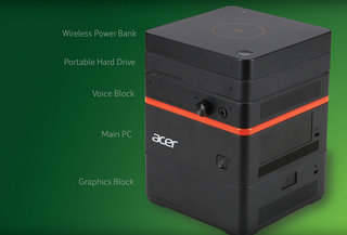acer revo build is a modular pc that you can add new components to magnetically image 3