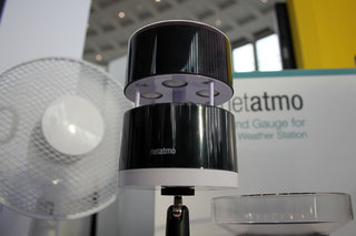 Netatmo adds Wind Gauge to Weather Station for Smartphone