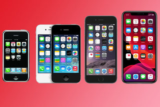 Apple iPhone history Look how much the iPhone has changed