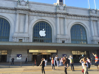 We're here at Apple's iPhone 6S special event