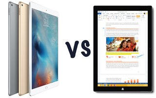Apple iPad Pro vs Microsoft Surface Pro 3: What's the difference?