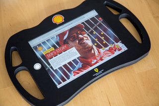 shell and ferrari team for incredible interactive f1 garage tour works great on phone or tablet image 4