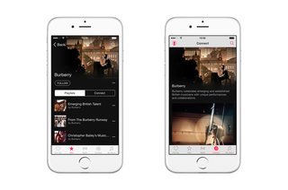Burberry is launching an Apple Music channel, solely features British artists