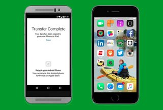 Apple's first Android app helps you move from Android to iOS