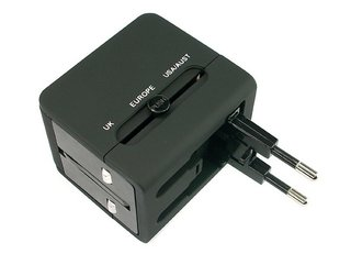 One all-in-one charger, 150 countries